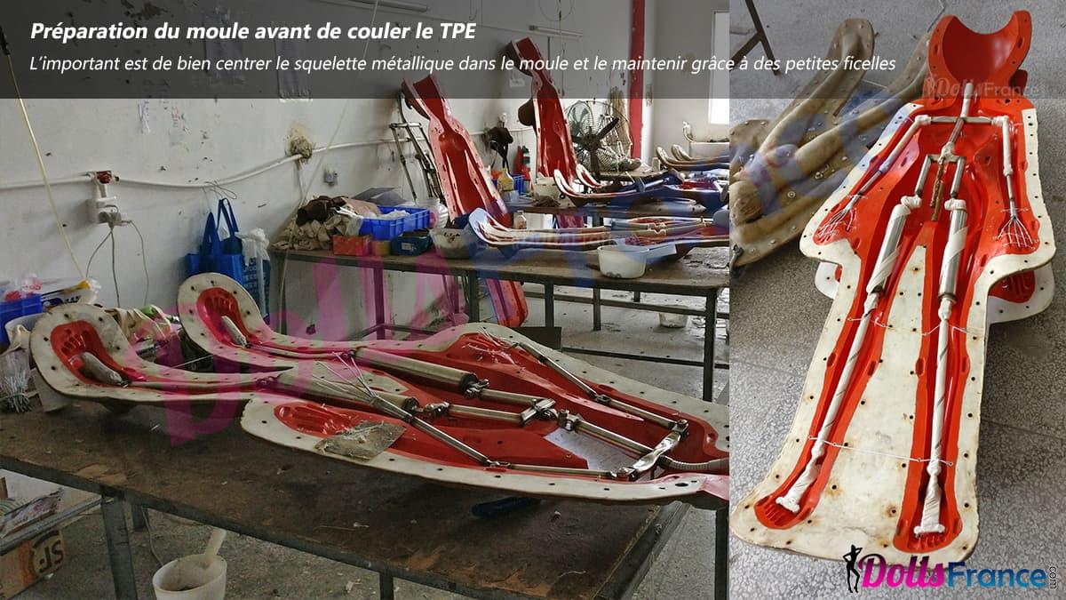 fabrication de poupée en tpe chinoise