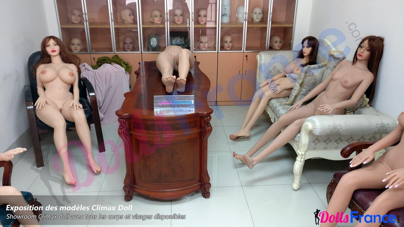 Showroom poupées sexuelles réalistes Climax Doll Chine