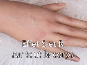 Effet S et R corps