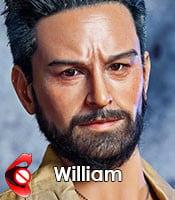William (silicone)