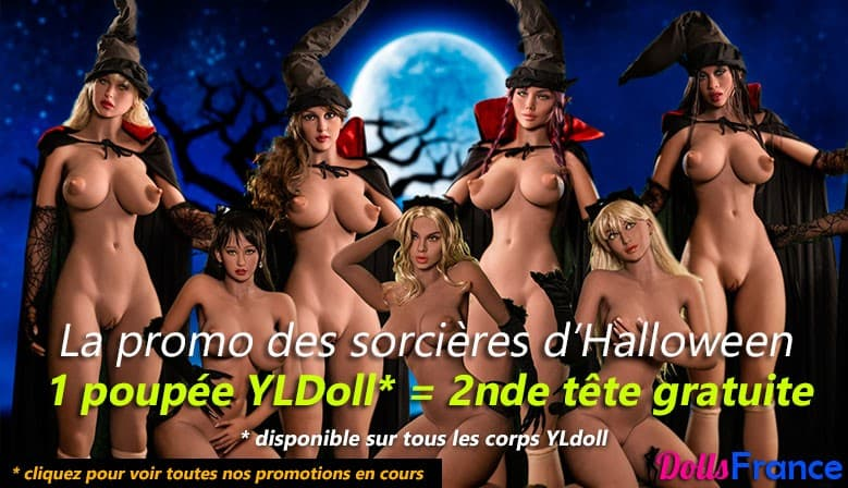 Promo Yourdoll Halloween