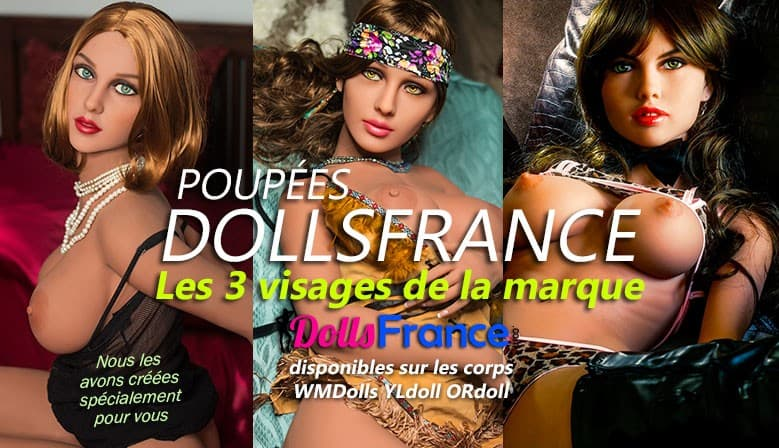 Les poupées Dollsfrance Cheyenne Virginie Laeticia