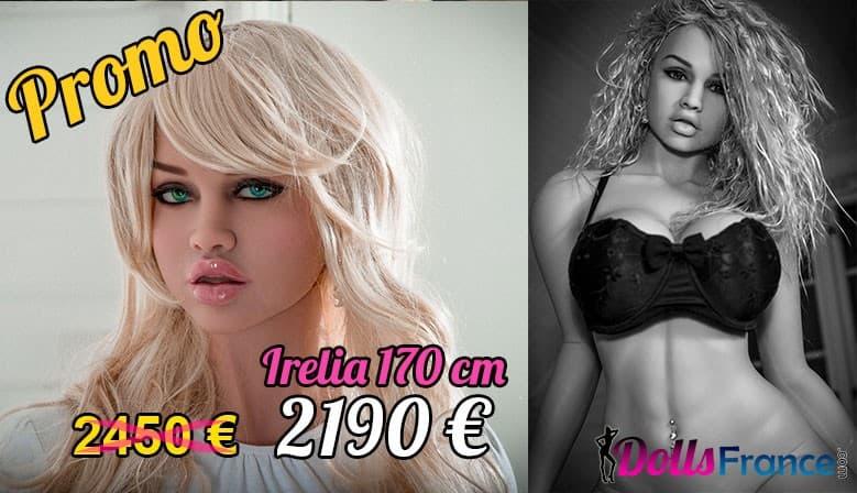 Promo poupée Irelia 170 cm
