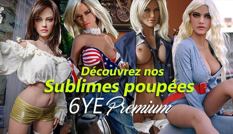 Poupée réalistes sexuelles 6YE Premium