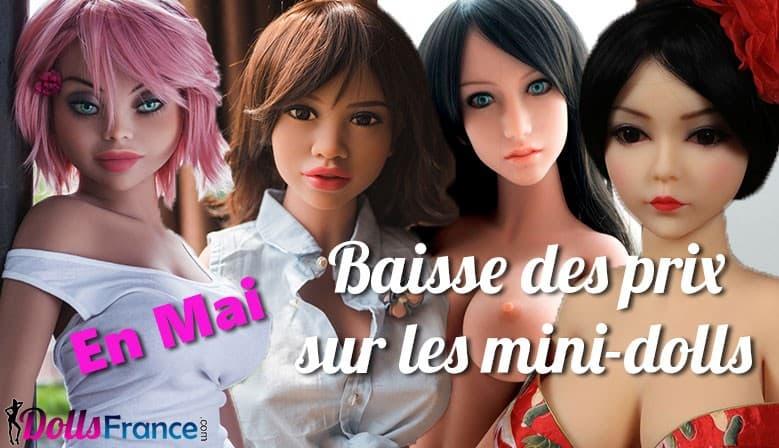 Baisse des prix mini-dolls